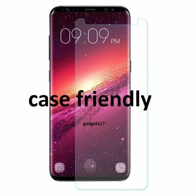 Screen Protector For SAMSUNG Galaxy S9 TEMPERED GLASS Cover - 100% CLEAR