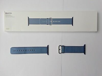 Apple Watch Woven Nylon Band 42mm Navy/Tahoe Blue MP232AM/A