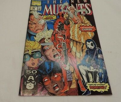 The New Mutants #98 (Feb 1991 Marvel) - First Deadpool - Excellent Condition ~!