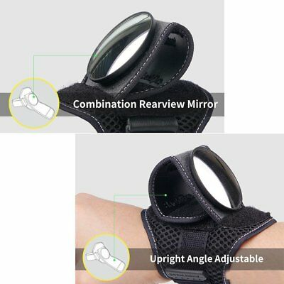 Riding Back Bicycle Mirror Accessorie Safety Reflex Bicycle Band View Rear Wrist