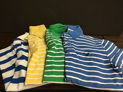 American Eagle lot of 4 men's small golf shirts