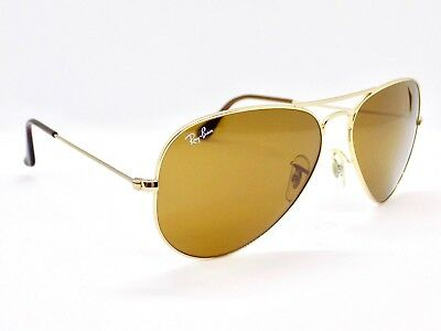 Ray Ban Aviator RB3025 001/33 58mm & Case