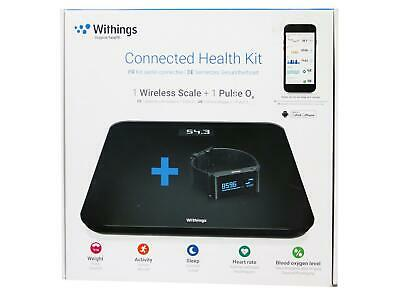 Withings Connected Health Kit: WS-30 Online-Waage Pulse Ox Aktivitätstracker NP8
