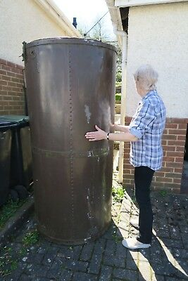 Galvanised 1000L Water Tank | Vintage Butt Rain Garden Allotment Irregation