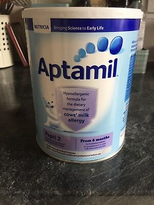 800g - Aptamil Pepti 2 formula, cows milk allergy, from 6 months RRP 25.99
