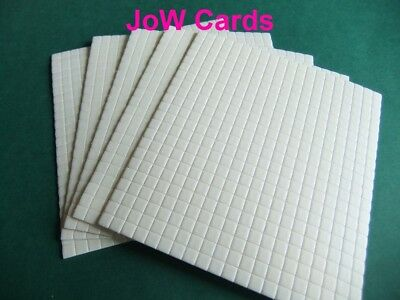 5x5x1mm Adhesive Decoupage Foam Pads Double Sided Stix 2 Craft Card