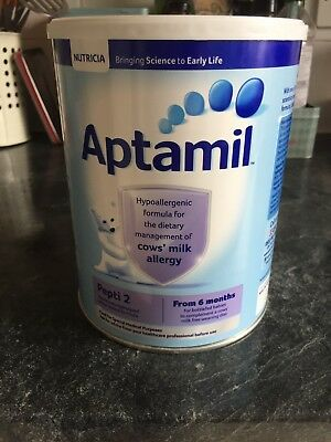 New Aptimil Pepti 2 Powdered Milk Formula From 6 Months 800g Exp 08/19 x 3