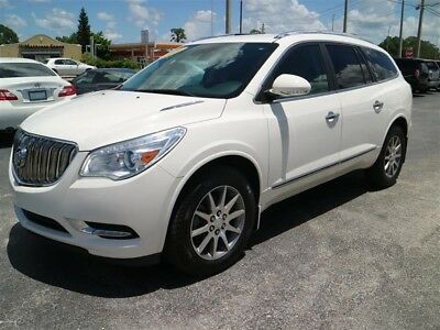 Enclave FWD 4dr Leather 2014 BUICK ENCLAVE FWD 4dr Leather 33,127 Miles White  3.6L Variable Valve Timin