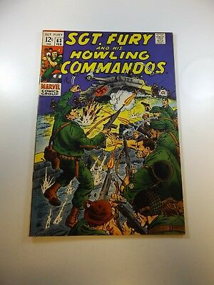 Sgt. Fury and His Howling Commandos #63 FN- condition Huge auction going on now!
