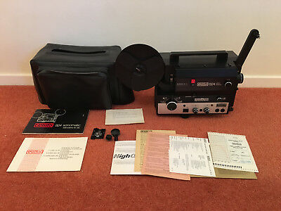 Eumig  824 super8, single8 and standard8 film projector