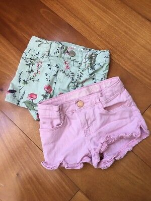 Toddle Girl Gap 1969 Jean Shorts Bundle, 2T