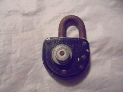 "Vintage Collectable ""richards"" 2 Dial Combination Padlock In Working Order"