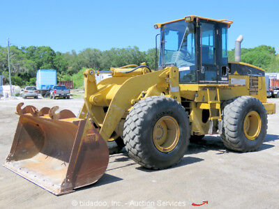 Caterpillar 928G Wheel 2.5 Yard Articulated Loader Tractor A/C Cab Front-End