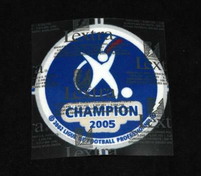 Official French Ligue 1 Champions 2005  Football Lextra Patch/Badge Lyon