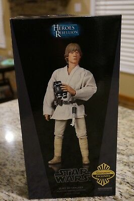 Sideshow Collectibles Star Wars Luke Skywalker Tatooine 1/6 EXCLUSIVE Episode IV