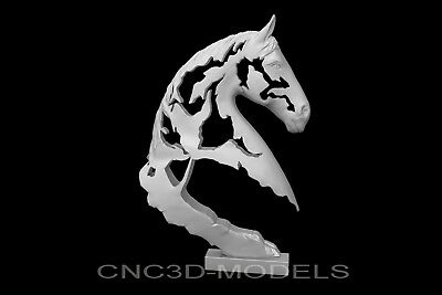 3D Model STL for CNC Router Engraver Carving Relief Artcam Aspire Horse g916