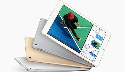 """Apple 9.7"""" iPad (Early 2018, 128GB, Wi-Fi Only, Space Gray, Silver or Gold)"""