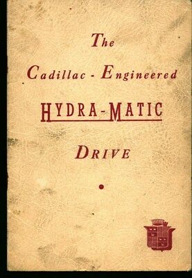 The Cadillac-Engineered Hydra-Matic Drive (1940)