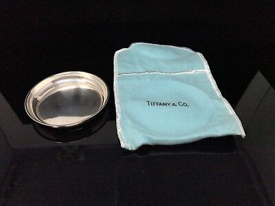 Tiffany & Co Sterling Silver Table Coaster With Original Pouch - No Monogram