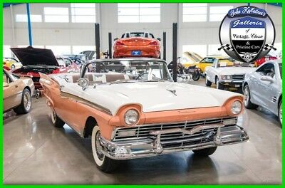 Ford Fairlane 1957 Ford Skyliner 312 V8 Auto Convertible Retractable Hardtop 57 1957 Ford Skyliner 312 V8 Automatic Convertible Retractable Hardtop Fairlane 57