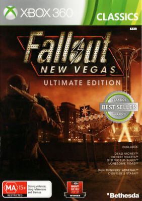 Fallout New Vegas Ultimate Edition XBOX360 PAL New Sealed