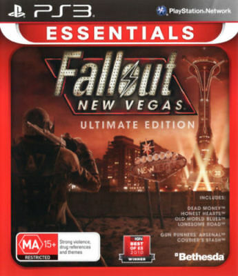 Fallout New Vegas Ultimate Edition PS3 PAL New Sealed