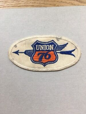 1930-40's  UNION 76  - LARGE SEW ON PATCH - RARELY SEEN -  RARE LOGO