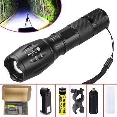 G700 10000 LM ShadowHawk X800 LED Zoom Military Tactical Flashlight Torch Light