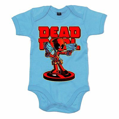 Body bebé Dead Pool armado
