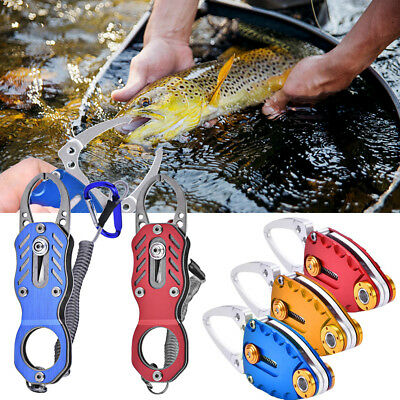 Aluminum Fish Lip Grip Gripper Body Clamp Fishing Grabber Plier Controller Tool