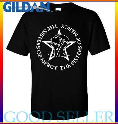 Sisters of Mercy Gildan T - Shirt The Worlds End Simon Pegg Retro 80s Size S-2XL