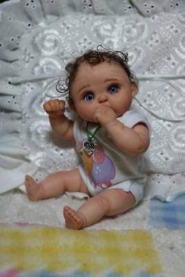 OOAK Baby Art Doll Polymer Clay by Svitlana 6,5inches