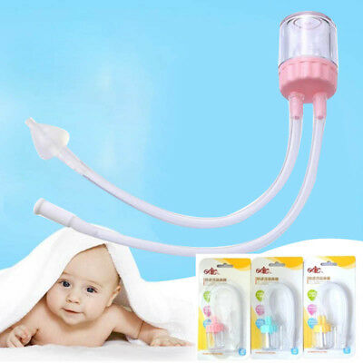 Silica Gel Baby Nasal Aspirator Baby New Born Nose Cleaner Sniffle Your Nose