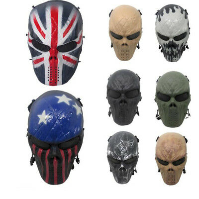 Team Leader Black Face God Knight Protective Mask Field Outdoor CS Equipment