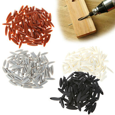 100Pcs Pocket Plugs Plastic Caps Woodworking Hide Hole Jig System Hand Tools
