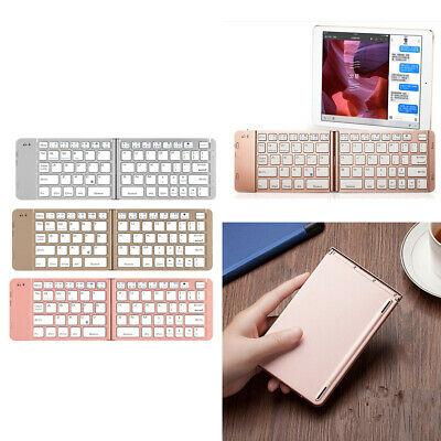 8f94863cab6 Foldable Wireless Bluetooth Keyboard Case For Apple Android Microsoft System