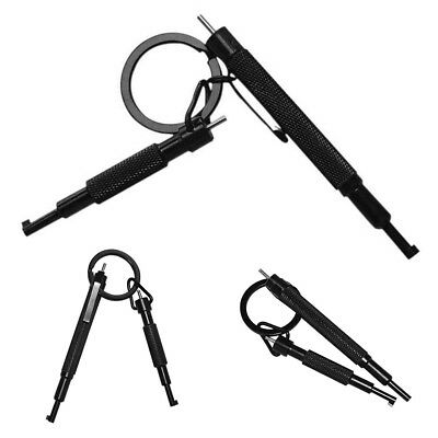 Universal Metal Alloy Handcuff Key With Pen Clip Lightweight Hand Cuffs EJ8