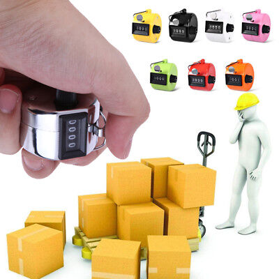 4-Digit Counter Manual Counter Tally Counter Golf Clicker Count Counting