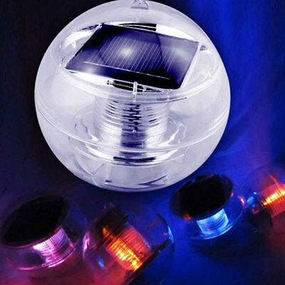 Pond Lamp Solar Energy Floatable Outdoor Colorful Gradient Changing Pool Lamp