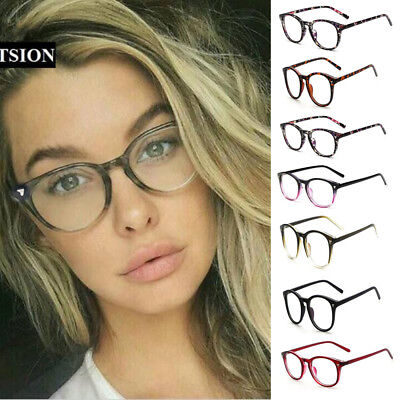 Retro Men's Women Square Eyeglass Frames Clear Lens Glasses Optical Spectacles