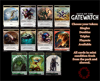 MTG Oath of the Gatewatch OGW Choose your Token M/NM Buy 2 or more save 10%