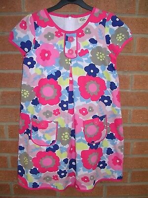 MINI BODEN Girls Daisy Print Fully Lined Cotton Summer Dress Age 9-10 140cm