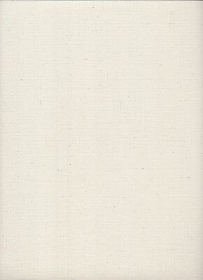 18 Count Charles Craft Aida Fabric Cream with Natural Flecks size 49 x 75cms