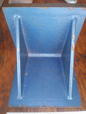 """6"""" Angle Plate, Setup, Fixture Block, Machinist Tools Used In Vg Cond."""