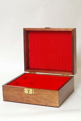 F89033~ Leitz Leica Wood Presentation Box For Trinovid? Binoculars – Super Clean