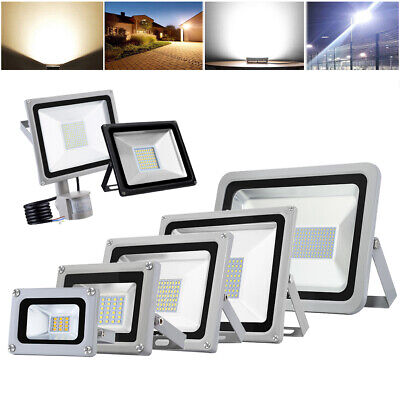 LED Floodlight 10/20/50/100/150/200/300/500W SMD 2835 High Power Security Light