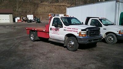 commercial trucks 1998 ford f 450 flat bed service truck