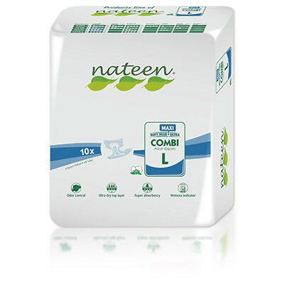 Large Tendercare-Nateen Night Maxi Adult Incontinence Nappies