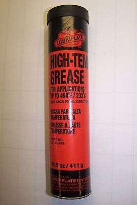 New Lubriplate L0161-098 High-Temp Grease 14.5 Oz For Applications Up To 450 Deg