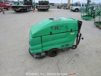2013 Tennant 5680 Walk Behind Self Propelled Industrial Floor Sweeper / Scrubber